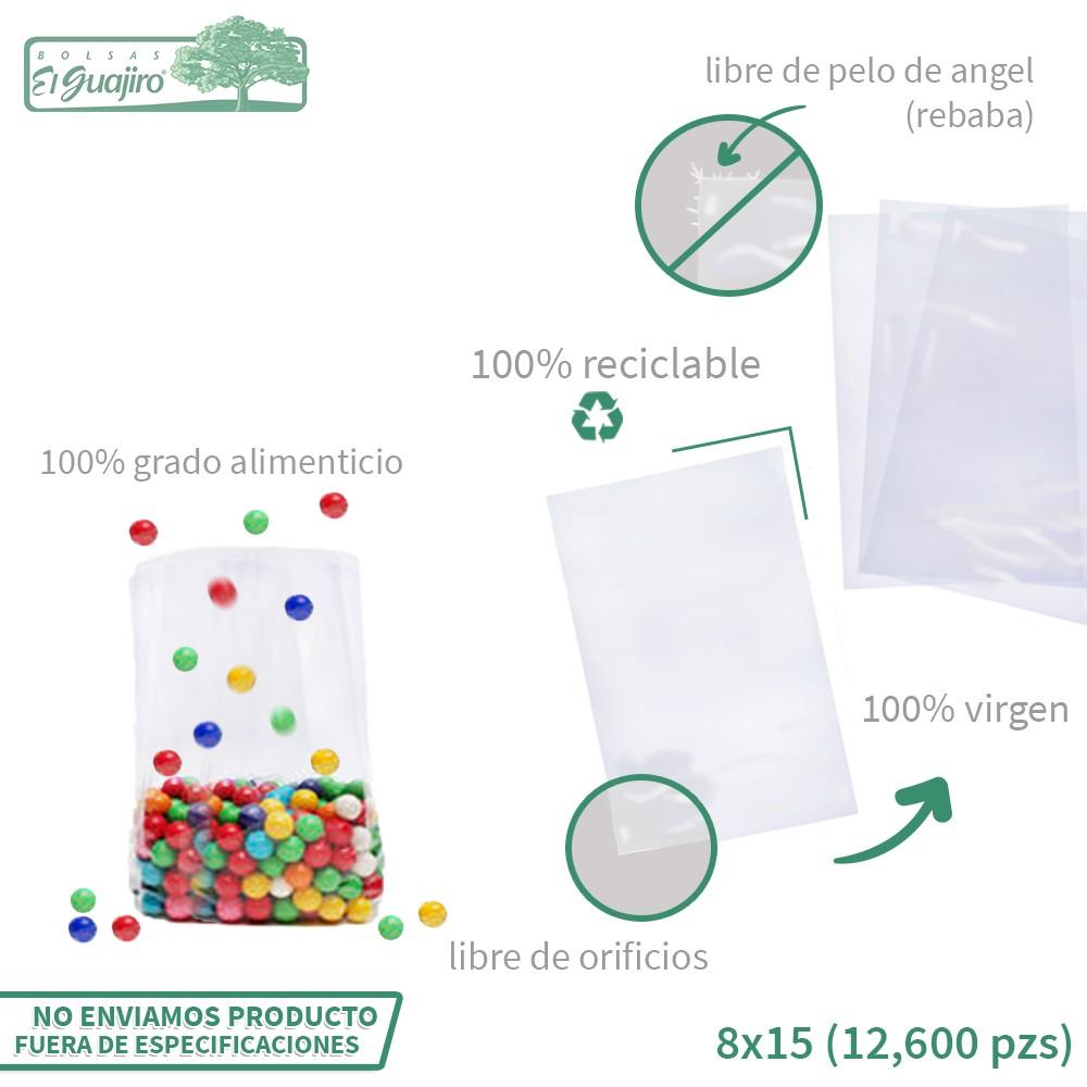 BOLSA DE CELOFAN  8X15 (...